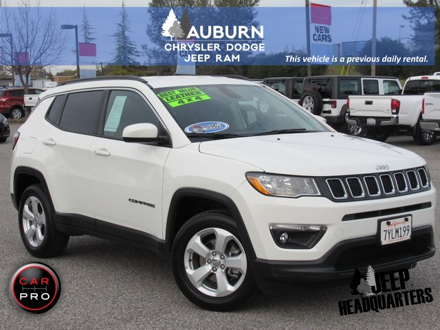 Pre-Owned 2017 Jeep New Compass Latitude